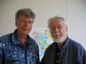 Med Georg Suttner i Gustavsfors c. 2010