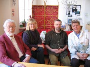 Gustavsforskonsortiet. Möte på Gerlesborgsskolan i Stockholm – Ingemar Roman saknas