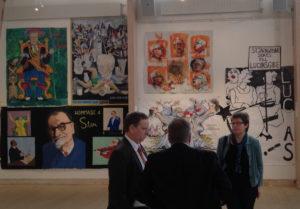 Lukasmålarnas utställning i Staffanstorps konsthall 2012