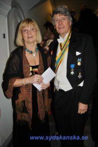 Med Agneta Ljungberg på nationsfest copyright Sydskånska nationen