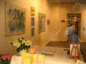 Galleri Överkikaren, Stockholm, fönster 2000