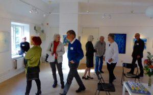 Vernissage Limhamns konsthall 10 okt 2015